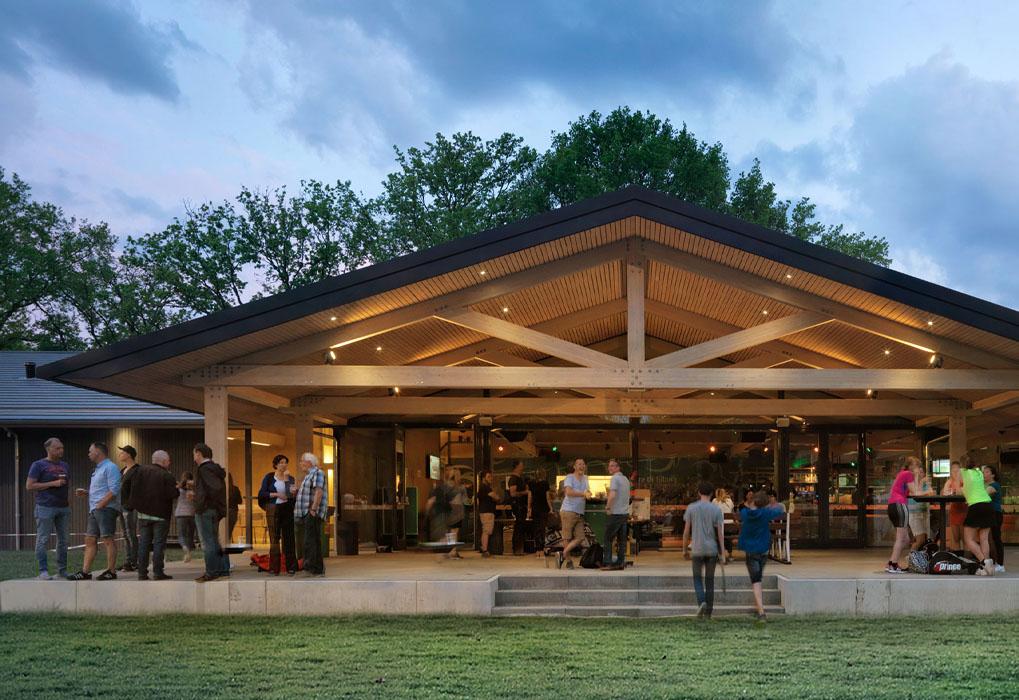 Turific heeft de audiovisuele installatie verzorgd in het nieuwe paviljoen van Were Di Tilburg 01