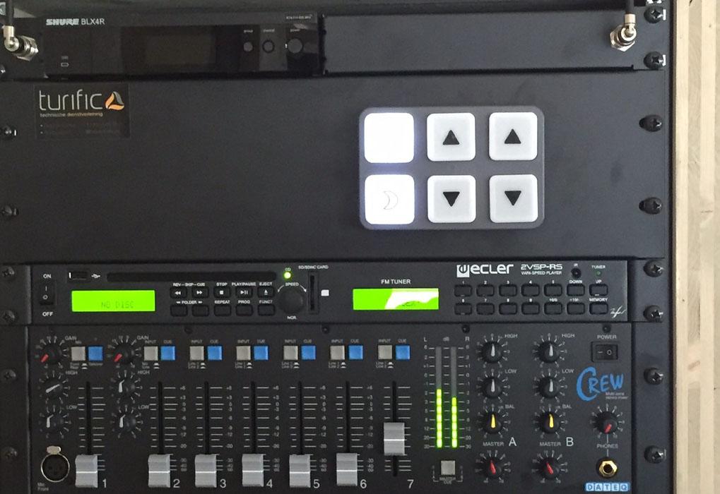 Turific heeft de audiovisuele installatie verzorgd in het nieuwe paviljoen van Were Di Tilburg 03