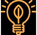 Turific | Ledverlichting icoon oranje